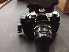Minolta SRT101 Camera w/ f=58mm lens