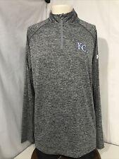 Men's Gray Kansas City Under Armour Shirt-Size L