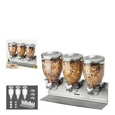 Cerealienspender Portionierer Müslispender Bartscher 500379 3-fach Cornflakes