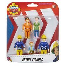 Fireman Sam Dilys Norman Elvis Tom 5 Action Figure Pack New