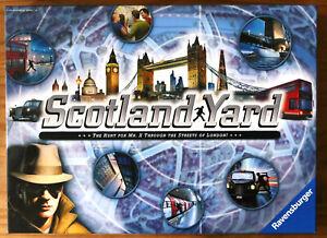 Scotland Yard Board Game - Ravensburger (2014) - Excellent Condition