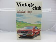 Aoshima Vintage Club TOYOTA CELICA LB 2000GT 1/24 Scale Model Kit UNBUILT
