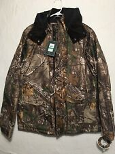 G.H Bass & Co. Camo Tree Hunting Hooded Jacket Men's Size Large NEW!