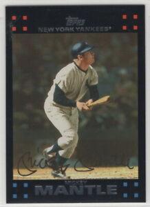 2007 Topps Baseball New York Yankees Team Set Series 1 2 and Update