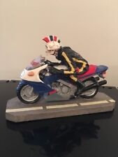 """SUMMIT COLLECTION SKELETON BIKER FIGURINE """"Can't Stop"""""""