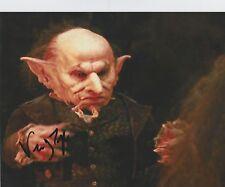 Verne Troyer Signed Harry Potter 10x8 Photo AFTAL