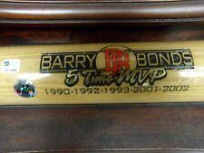 Barry Bonds Autographed Cooperstown Bat