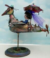 "*NEW* ""RACHEL'S FLYING MACHINE""  FOLK ART PDF CLASS TUTORIAL/PATTERN ON CD BY SU"