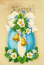 Julia Glushchuk ' Vintage Easter '  Russian modern Rare new postcard