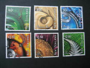 NEW ZEALAND USED SET-2001 ART FROM NATURE SG 2402/7