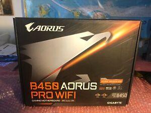 GIGABYTE B450 AORUS M AM4 AMD B450 PRO WIFI SATA 6Gb/s Micro ATX AMD Motherboard