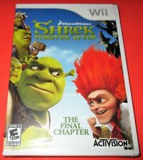 Shrek Forever After: The Final Chapter Nintendo Wii *Brand New! *Free Shipping!