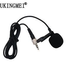 Lapel Lavalier Tie Clip Condenser Microphone For  Speaking Speech Transmitter