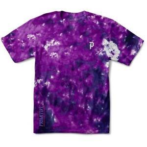 Primitive Tee Goku Black Rose Wash Purple Dragon Ball Z Skateboard T-Shirt DBZ