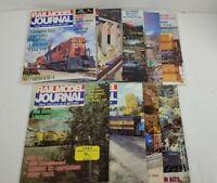 Railmodel Journal Magazine Lot Of 9 1991