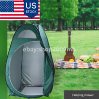 Outdoor Pop Up Tent Camping Shower Bathroom Toilet Changing Shelter Single Tents