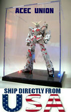US SELLER  Model Display Box For Gundam MG HG BB Figures With LED Lights