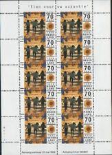 Nederland NVPH 1678 Vel Tien voor uw Vakantie 1996 Postfris