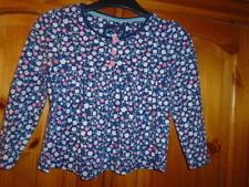 TU Girls' Long Sleeve Sleeve 100% Cotton T-Shirts, Top & Shirts (2-16 Years)