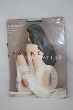 Falke  ~ PURE MATT 50 ~  semi opaque tights BNWT green Small 50 denier