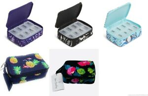 NWT Vera Bradley Travel Pill Case Factory Choose from 5 Patterns MSRP $25