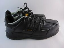 Steel Toe Shoes For Crews Sfc Pro For Mens Leather Color Black Size 7