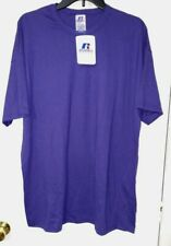 Russell Athletic 2XL NuBlend T-Shirt 64030MK Purple NWT 50/50 Cotton Poly XXL