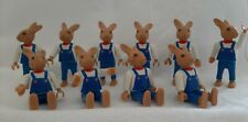 lot of 10 Playmobil toy figures - little bunnies / rabbits - identical