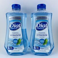 2-Pack Dial Complete Liquid Hand Soap Refill Spring Water Kills Bacteria 32 oz