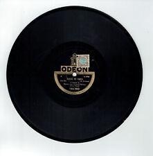 78T MELODIE JAZZ Edmond MAHIEUX Disque Piano Pleyel GOSSE DE PARIS ODEON 165860