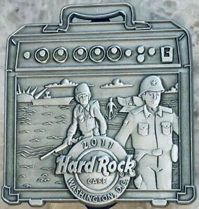 Hard Rock Cafe WASHINGTON DC 2011 Military AMP Series MARINES PIN 1/5 HRC #62909