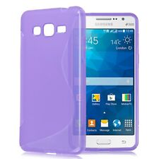 HOUSSE ETUI COQUE SILICONE GEL SAMSUNG GALAXY GRAND PRIME VIOLET