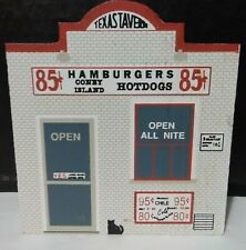 New ListingTexas Tavern by The Cat's Meow Village Collection~Faline 1991