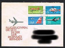 DDR Ersttagsbrief FDC  echt gelaufen  1749-1752 komplett  (259)