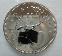 1982 CANADA 25 CENTS PROOF-LIKE COIN