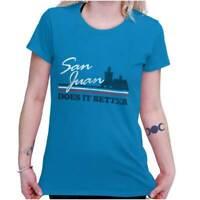 S-2XL Puerto Rico PR Pride Proud Boricua Taino SAN JUAN 787 Women/'s T-shirt
