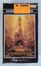 Cassette V2000 Les Goonies 1986 Video 2000 VCC