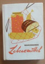 Buch Warenkunde Lebensmittel Sorten Qualitätsmerkmale Anbau Herstellung Kauf