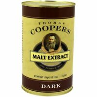 Malt Extract DARK  - Coopers 1.5 kg Free Fast P&P UK