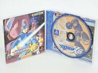 ROCKMAN X6 Megaman Ref/ccc PS1 Playstation Japan Game p1