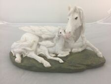 NEW ENCHANTED LEGACY PEGASUS BABY RESIN MYTHICAL HORSE FIGURE NEMESIS NOW BOXED