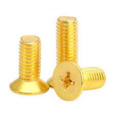 50pcs M2 brass phillips screws countersunk screw cross socket flat head bolt