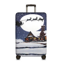 """Elastic Travel Suitcase Cover Luggage Protector Protective Christmas Gift 18-32"""""""