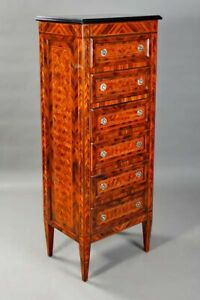 Chiffonniere Dresser With 6 Drawers IN Style of The Classicism