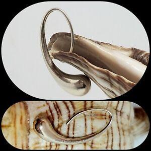 TIFFANY & CO Elsa Peretti Sterling Silver Teardrop SINGLE Earring Replacement