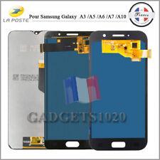 Ecran LCD Vitre Tactile Pour Samsung Galaxy A3 / A5 / A6 / A7 / A10 NOIR OR