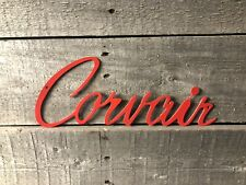 "18"" Corvair wall ornament sign CNC metal cut art powder coated"