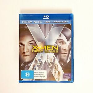 X-Men First Class Movie Bluray Free Postage Blu-ray -  Superhero Marvel