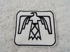 "Black White THUNDERBIRD 3-1/4"" Embroidery Iron-on Custom Patch (E9)"