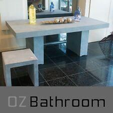 200cm Concrete/cement table for outdoor garden, VIC stock!
